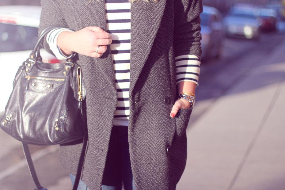Outfit // lille Juleaften i striber og støvler