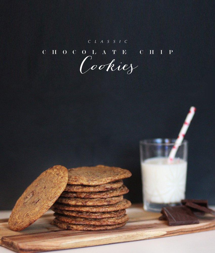 OPSKRIFT <i>- klassiske chocolate chip cookies</i>