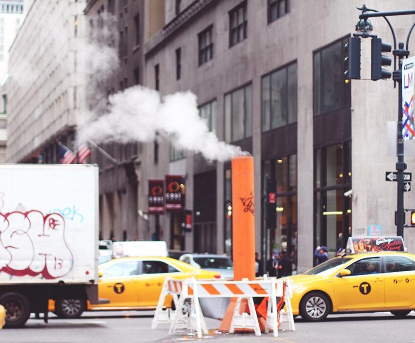 REJSER <i>- New York-stinenser..</i>