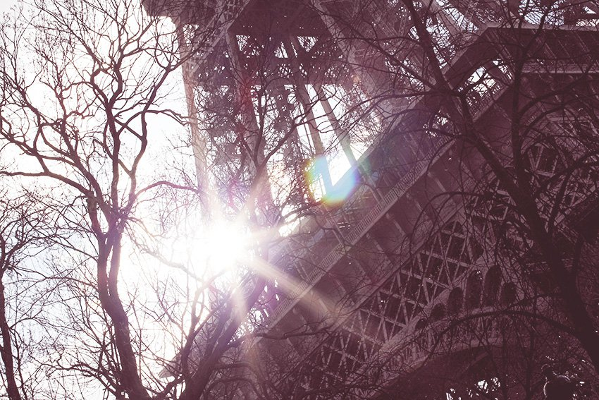REJSER <i>- solskinslørdag i Paris..</i>