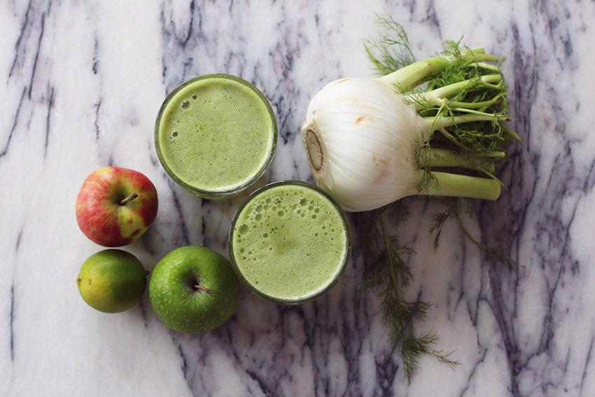 JUICE-FAVORIT <br>- grøn superjuice med fennikel..