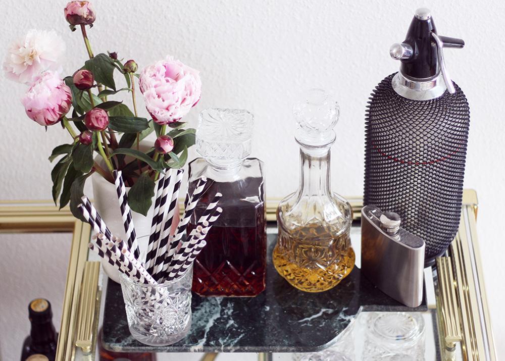 BOLIG - billige og dekorative glaskaraffler..