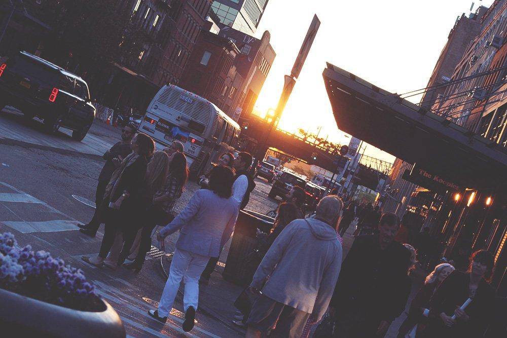 NEW YORK - en hemmelig gin-bar..
