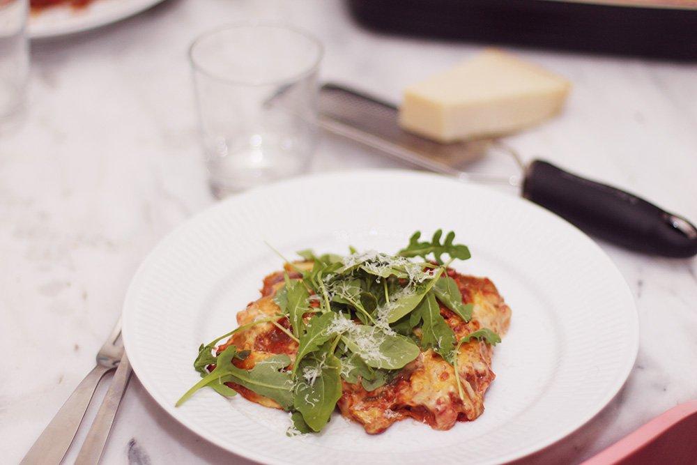 OPSKRIFT - lasagne med skjulte grøntsager..