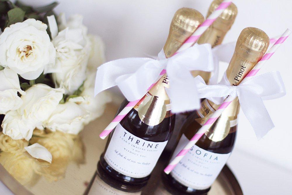 BRYLLUP - små gaver til brudepigerne..