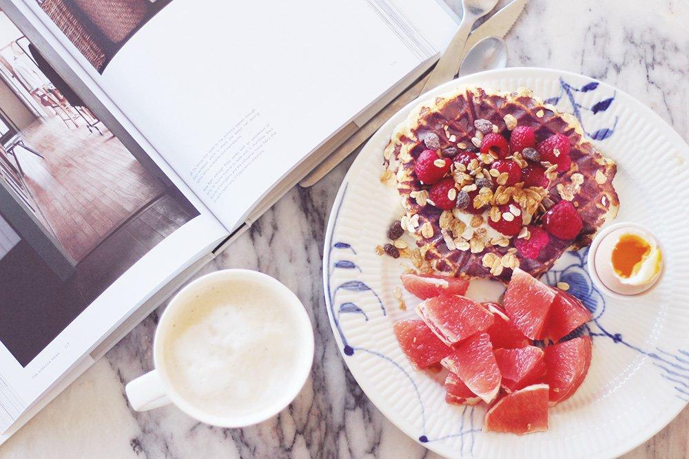 sunde-vafler-langsom-weekend-brunch-morgenmad