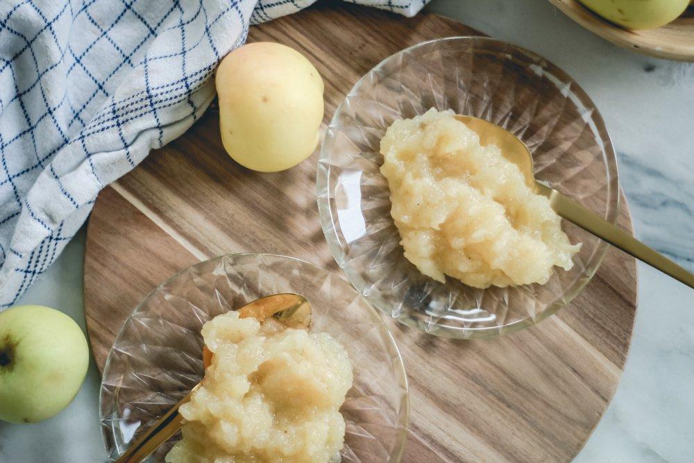 Opskrift På Hjemmelavet æblegrød Acie